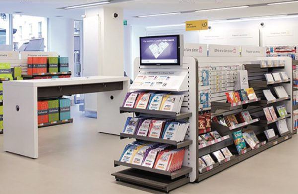 Espace libre-service offre produits