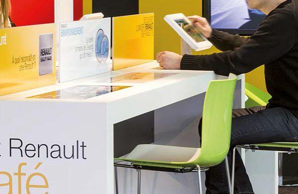 Mobilier d'accueil Renault