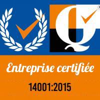 Entreprise certifiée iso 14001:2015