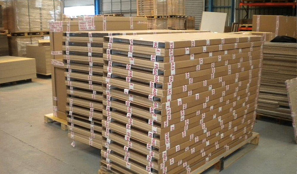 Emballage des composants et produits semi-finis