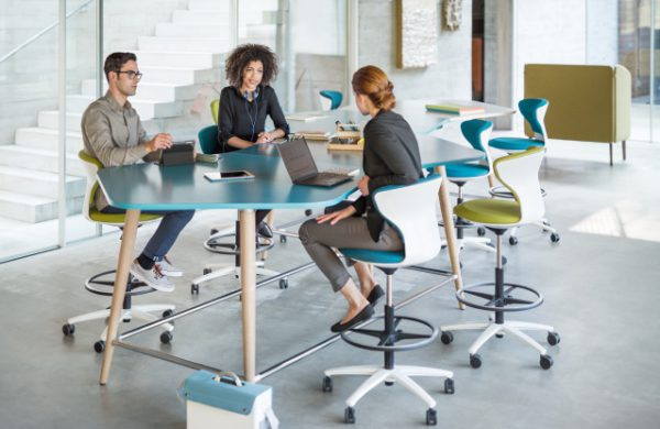 Mastermind bureau haut de réunion