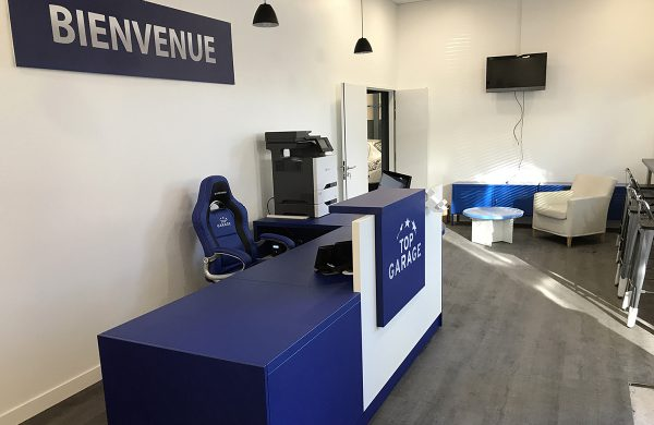Mobiliers commerciaux top garage