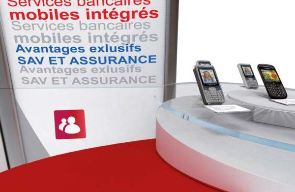 PLV Crédit Mutuel Mobile