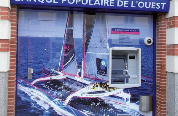 Habillages DAB Banque Populaire