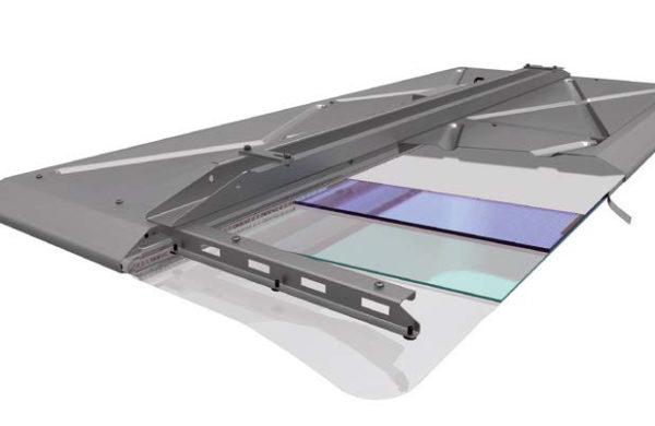 schema dalles extra plates éclairage led RATP