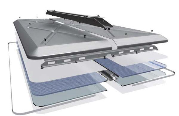 Schéma-1-dalles extra plates éclairage led RATP