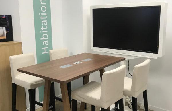 Axa table connectee