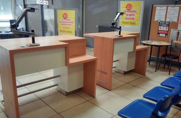 CPAM mobilier d'accueil 1